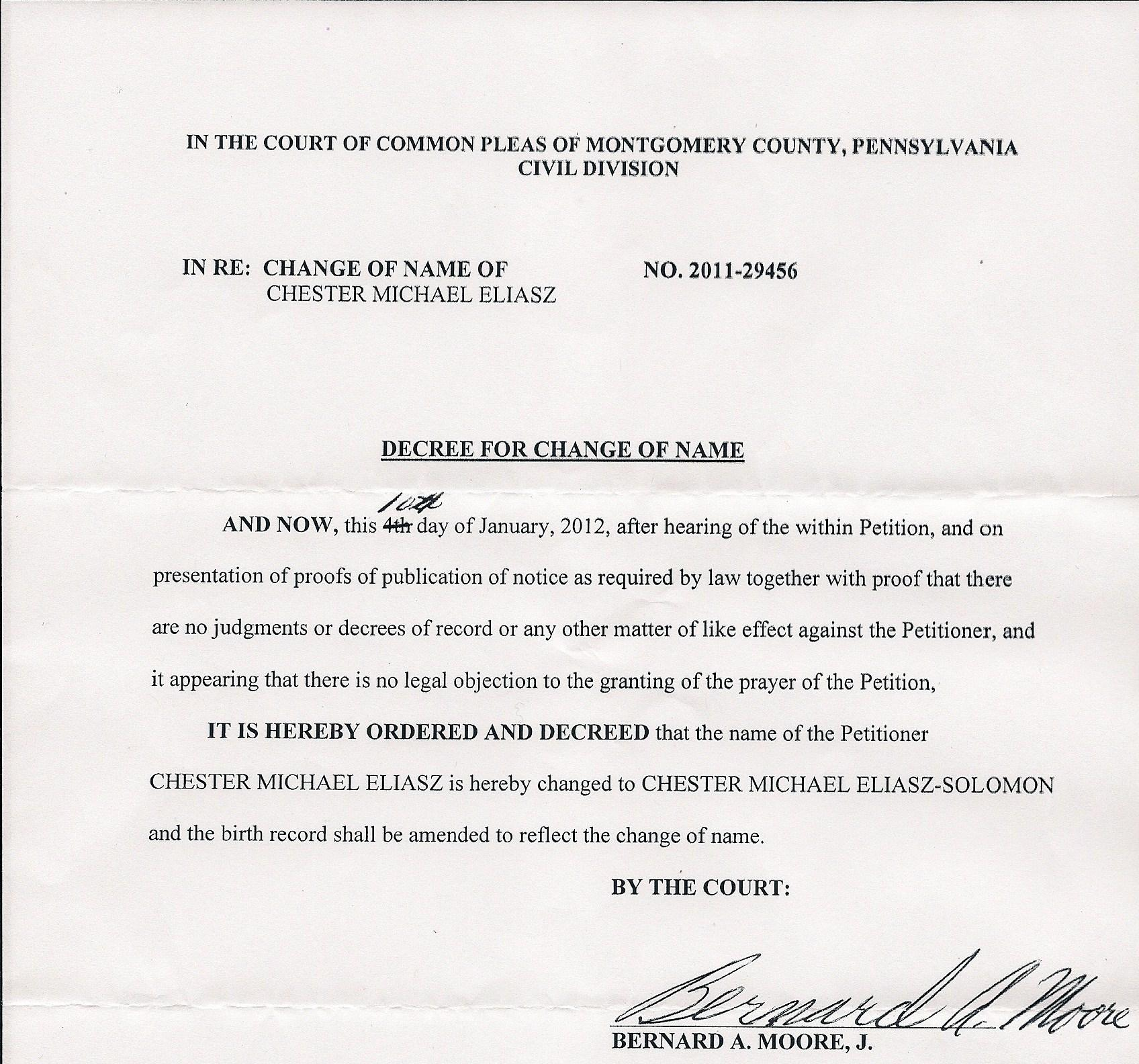 Montgomery County Pa Divorce Forms