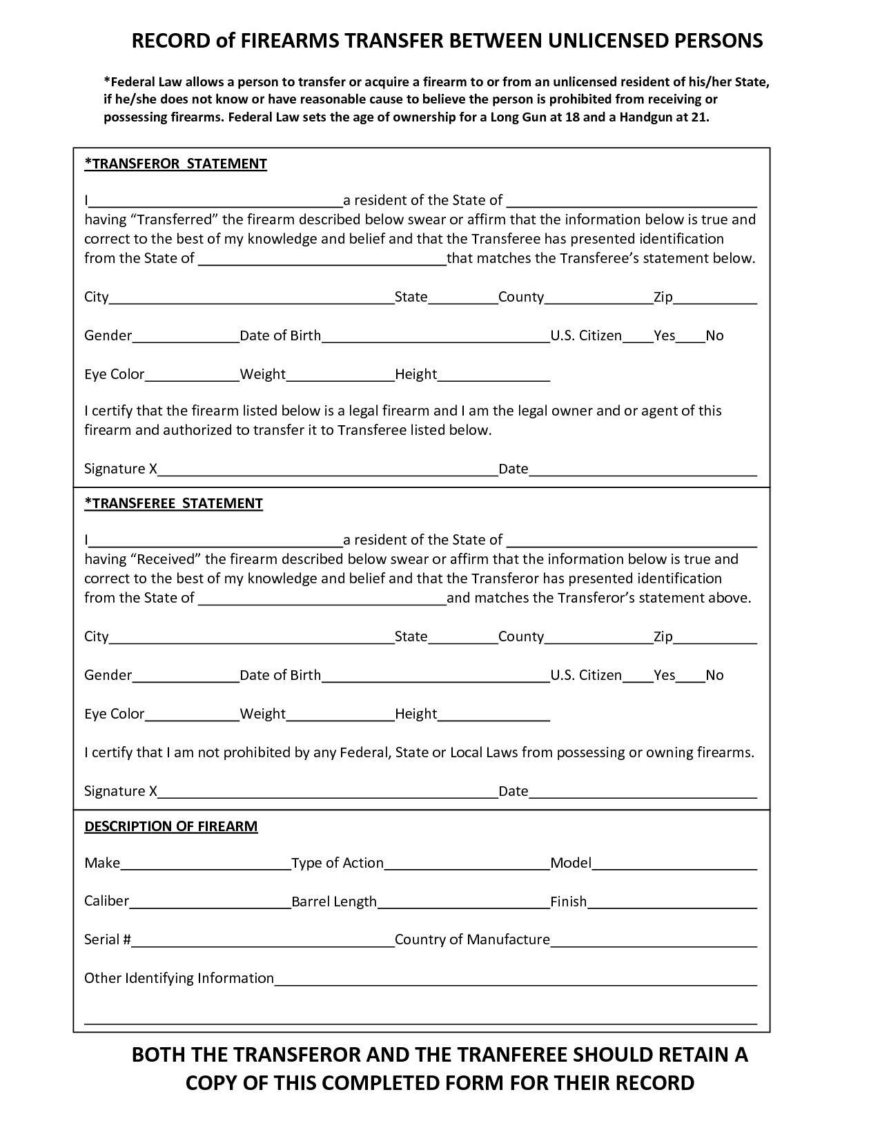 Nfa Trust Form 4