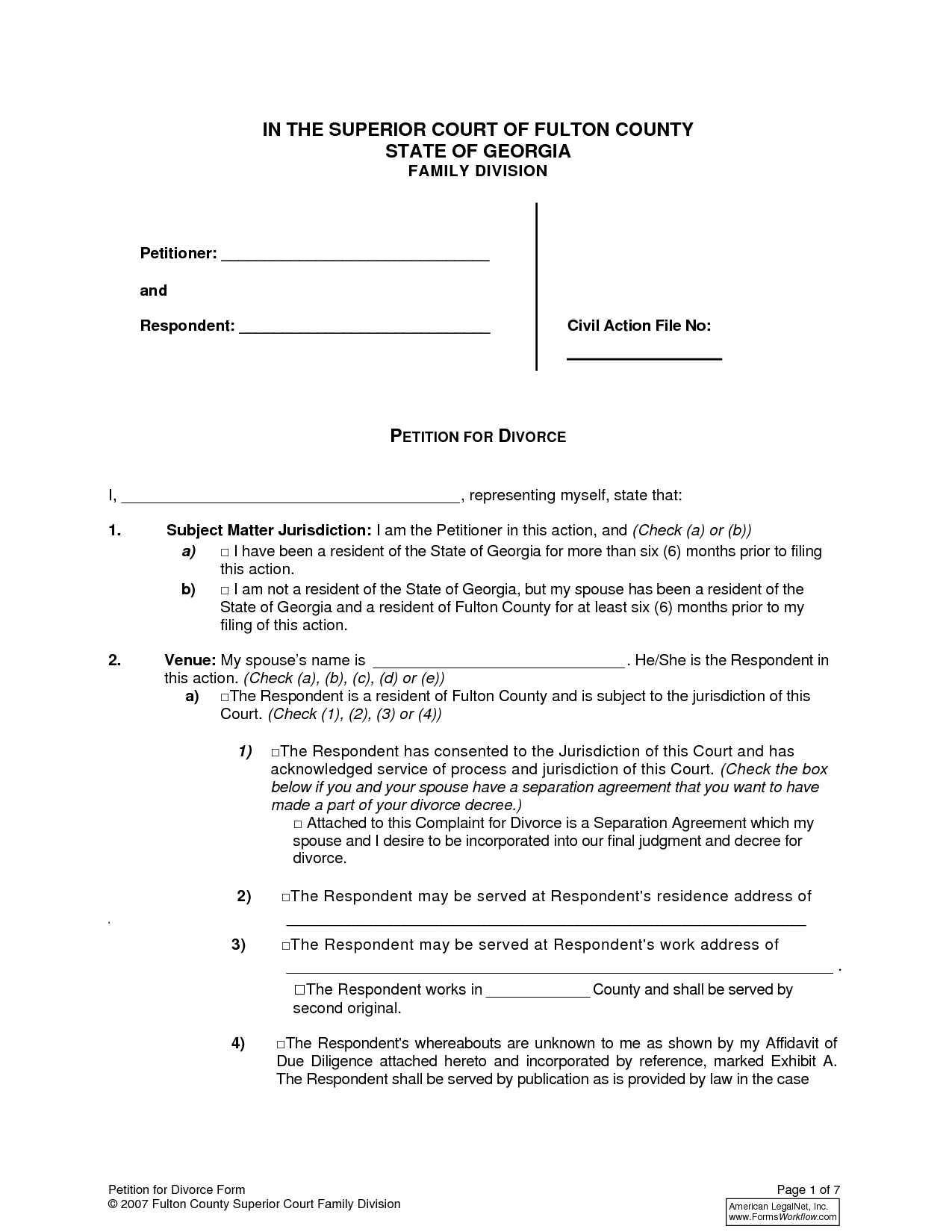 Oklahoma Legal Divorce Forms