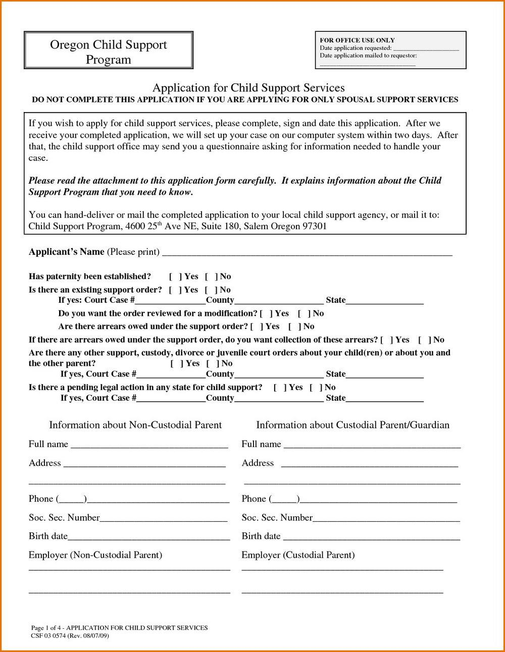 Oregon Divorce Forms Pdf