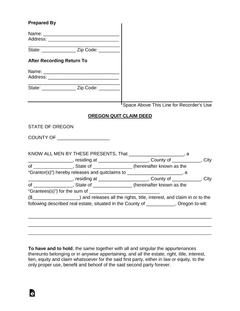 Oregon Law Divorce Forms