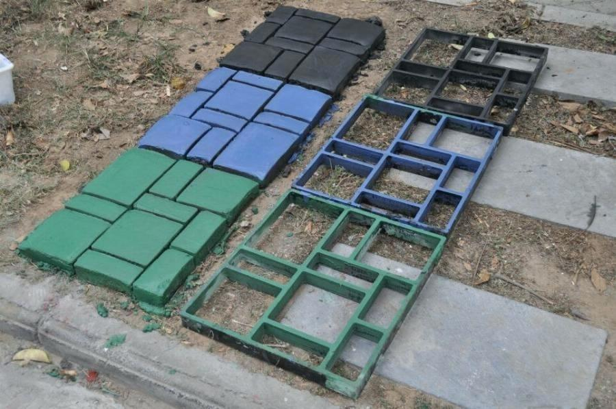 Plastic Concrete Paver Forms
