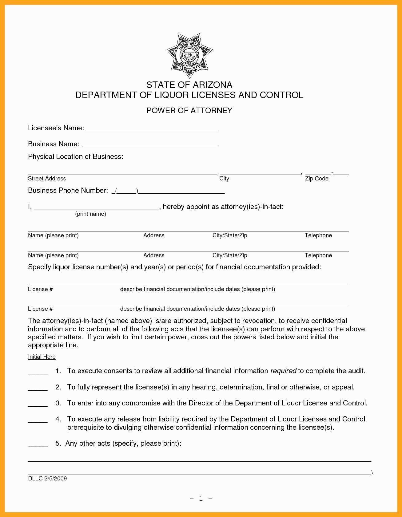 Printable Durable Power Of Attorney Form Missouri