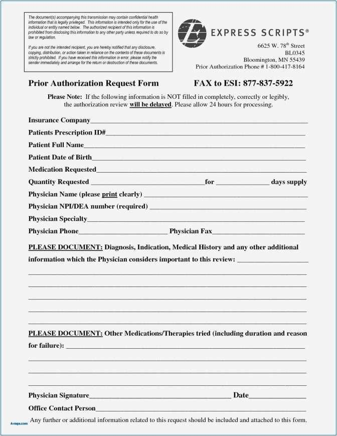 Prior Auth Form For Medicare Part D