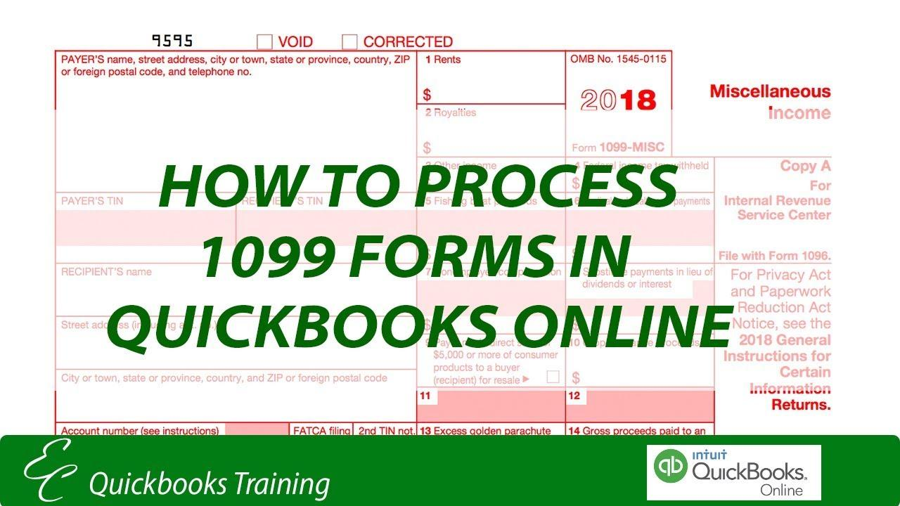 Quickbooks 1099 Forms Online