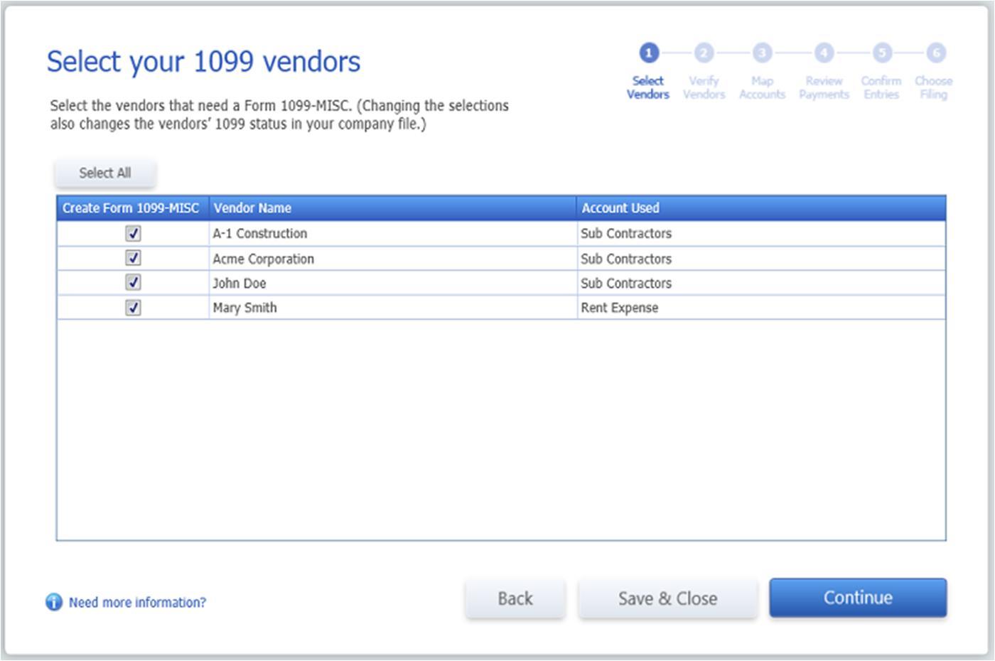 Quickbooks Preprinted 1099 Forms