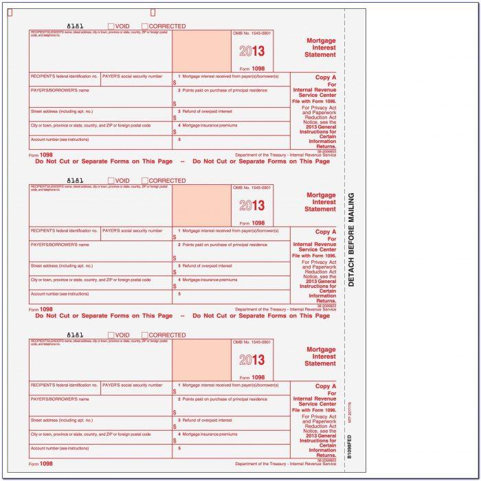 Quickbooks Print 1099 Forms On Blank Paper