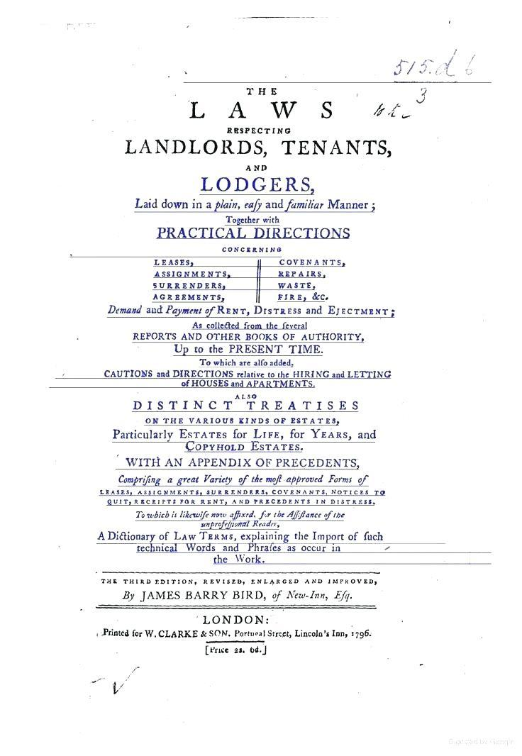 Rental Lease Template Ireland