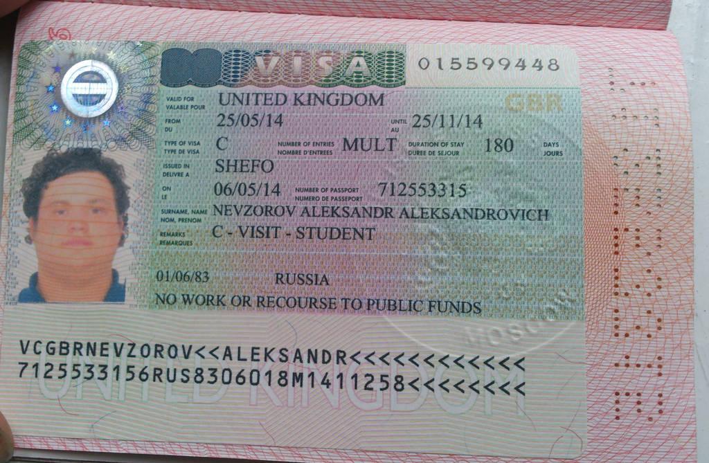 Russian Visa Application Form For Bangladeshi