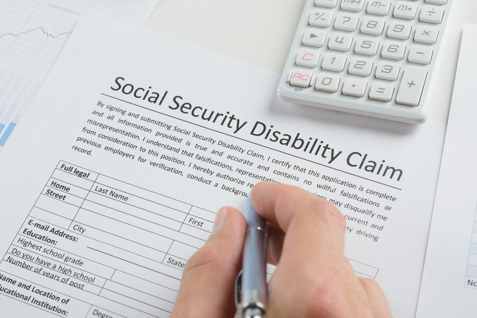 Social Security Disability Application Form Texas