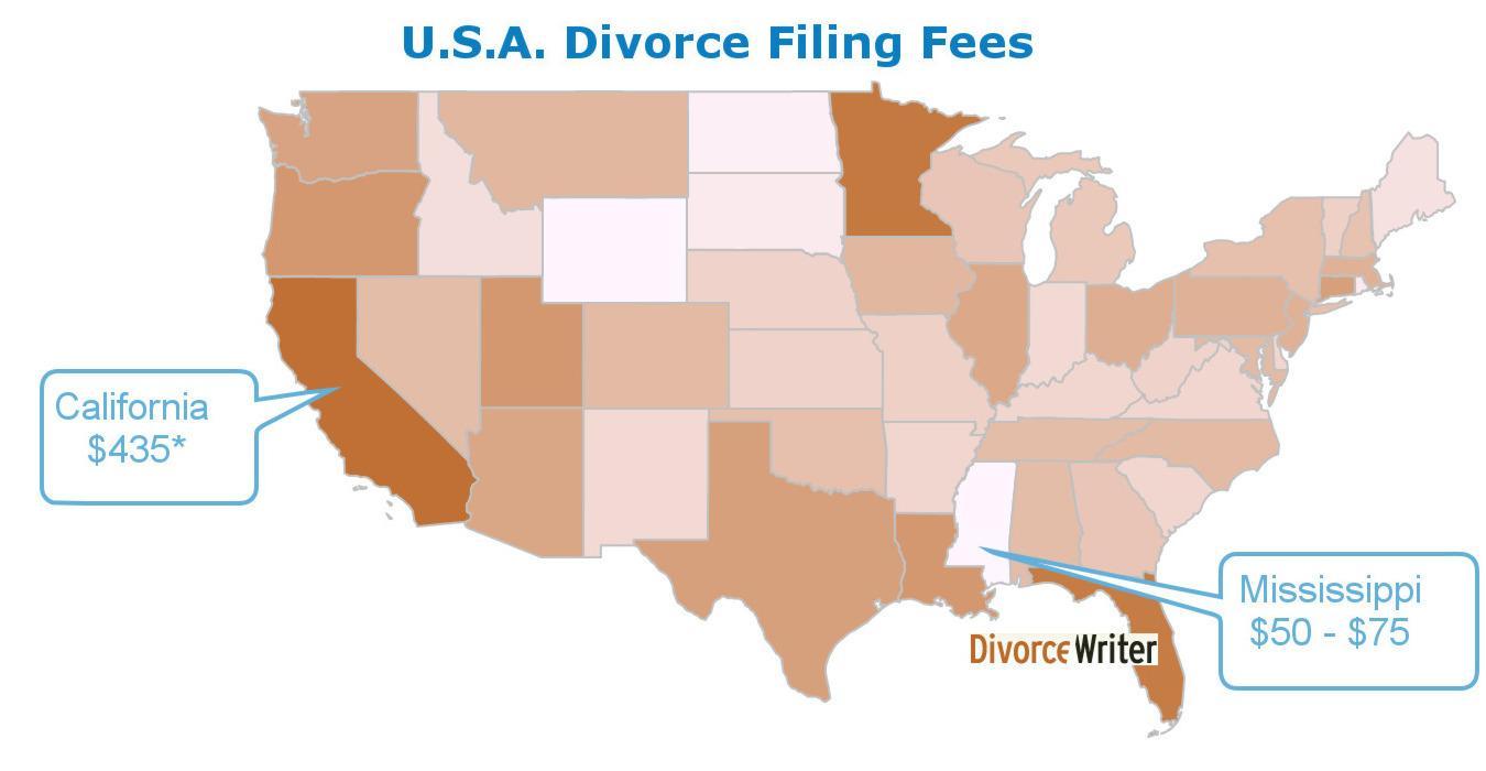 South Carolina Divorce Filing Fee