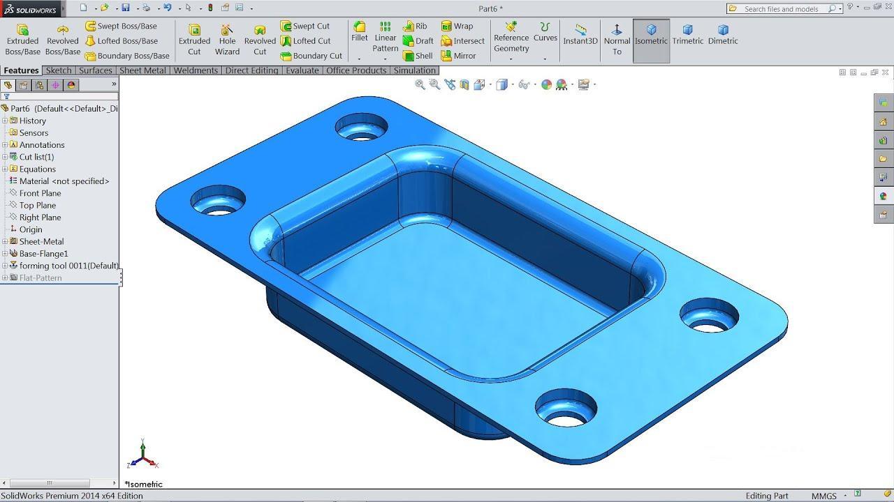 Standard Sheet Metal Forming Tools