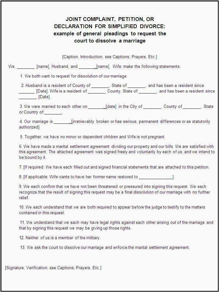 Uncontested Divorce Forms Louisiana