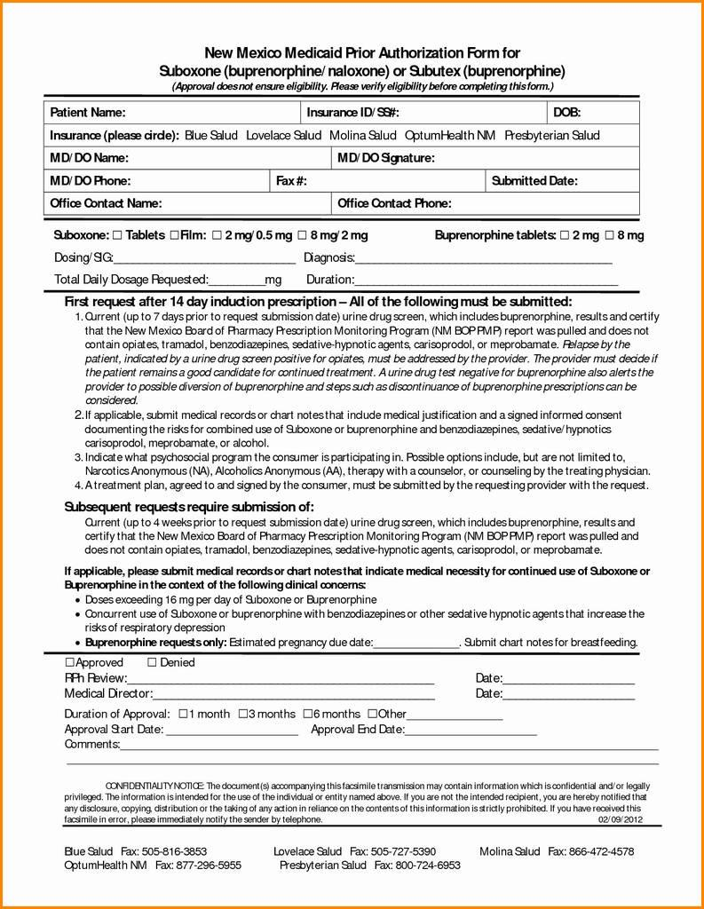United Healthcare Medicare Replacement Prior Authorization Form
