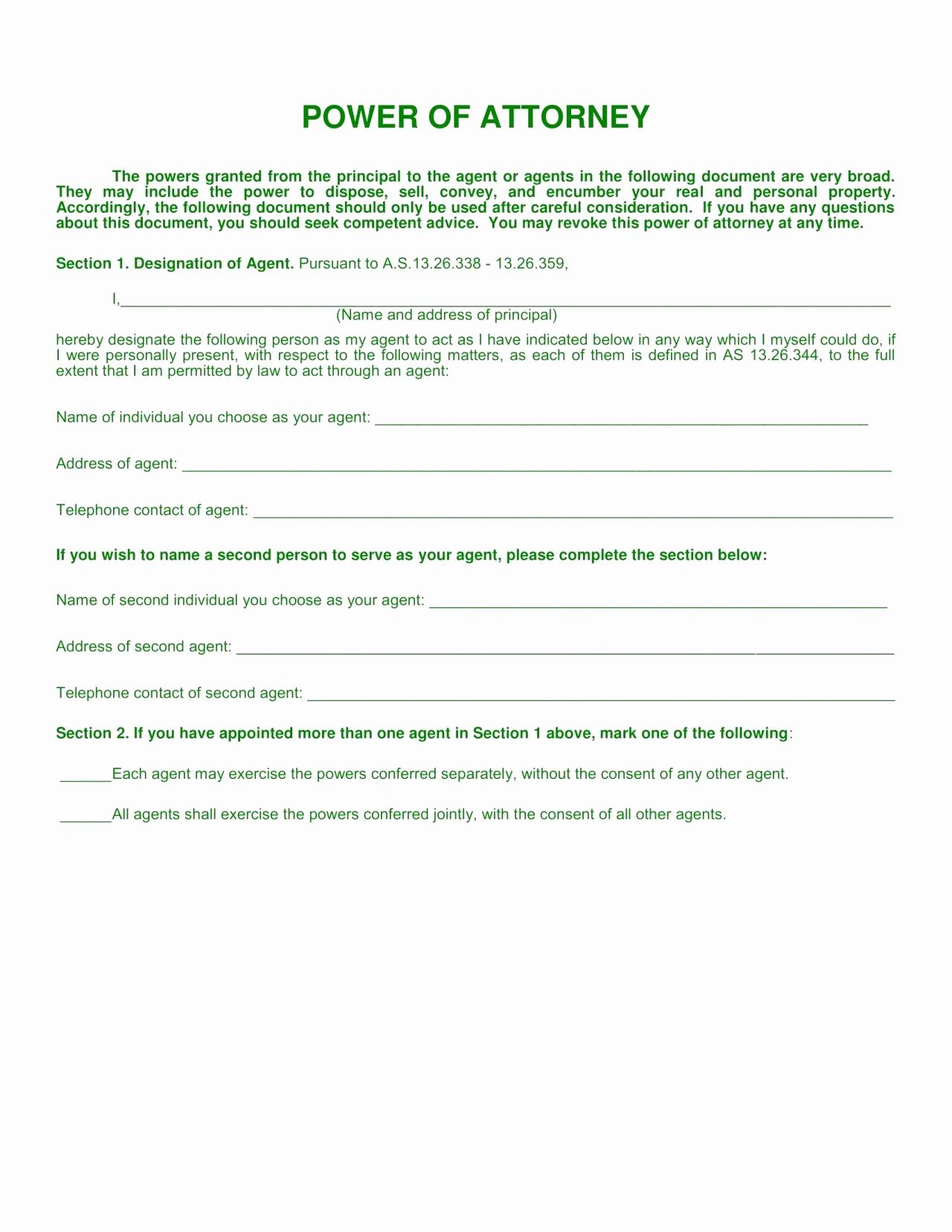 Utah Dmv Power Of Attorney Form