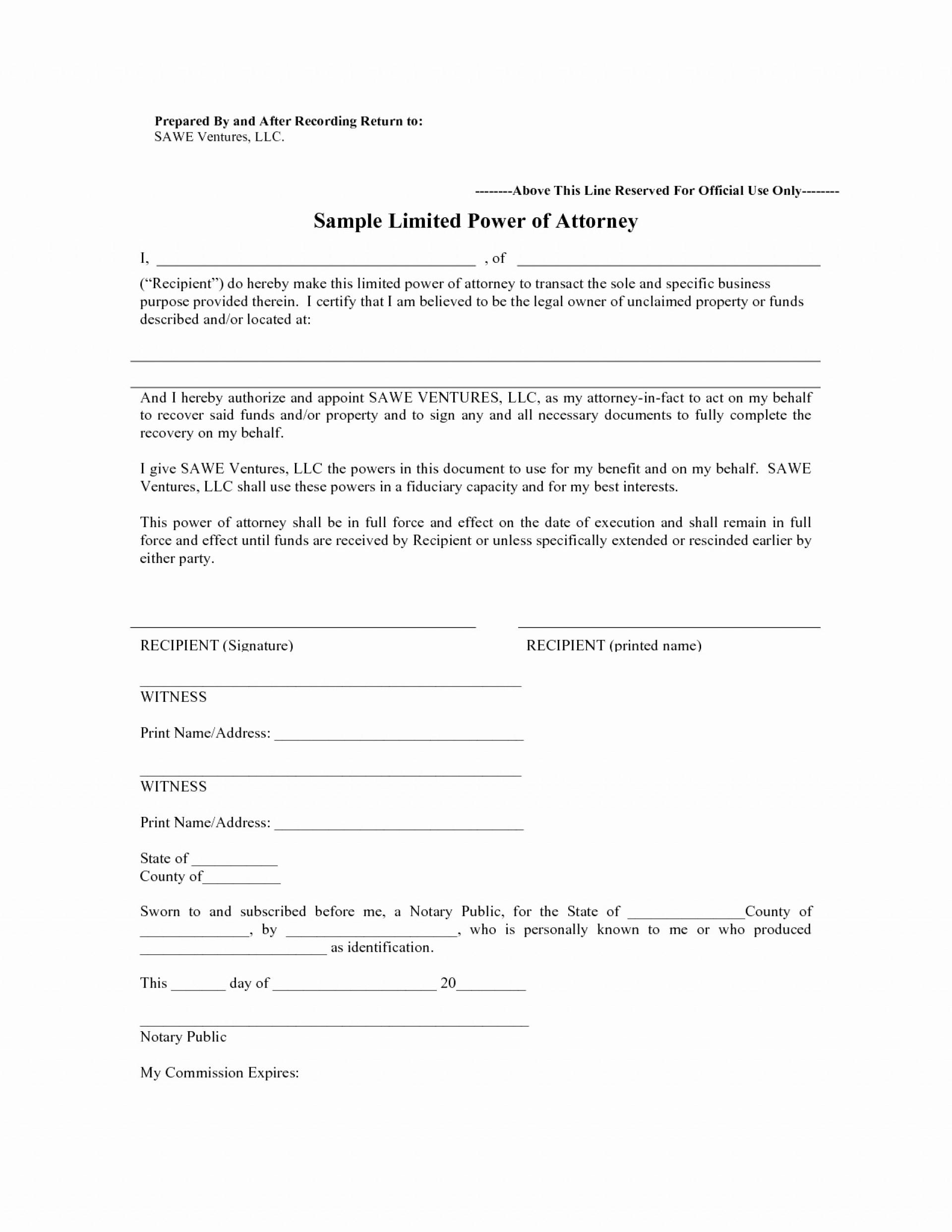 Utah Statutory Power Of Attorney Form