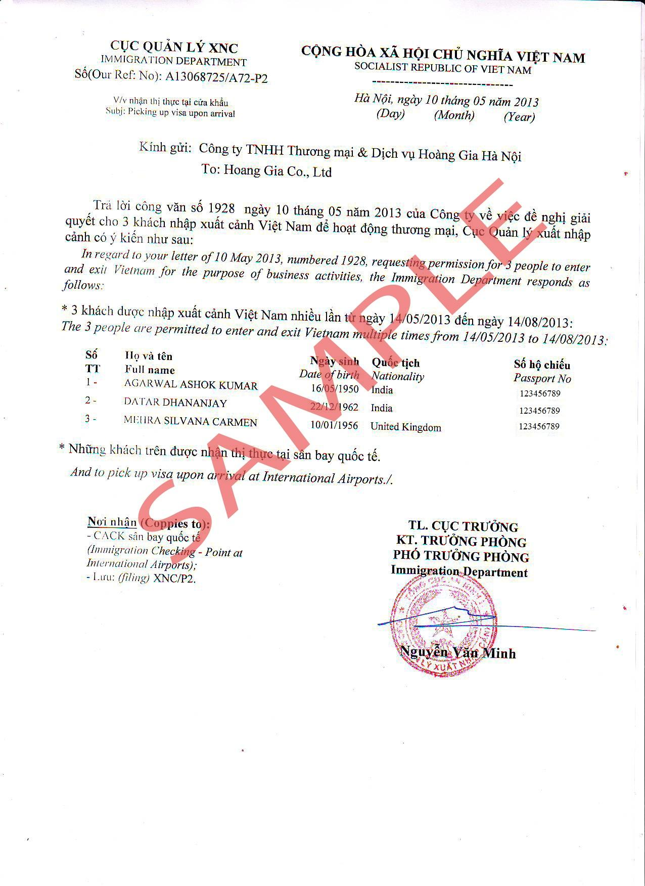 Vietnam Visa Application Form Download Sri Lanka