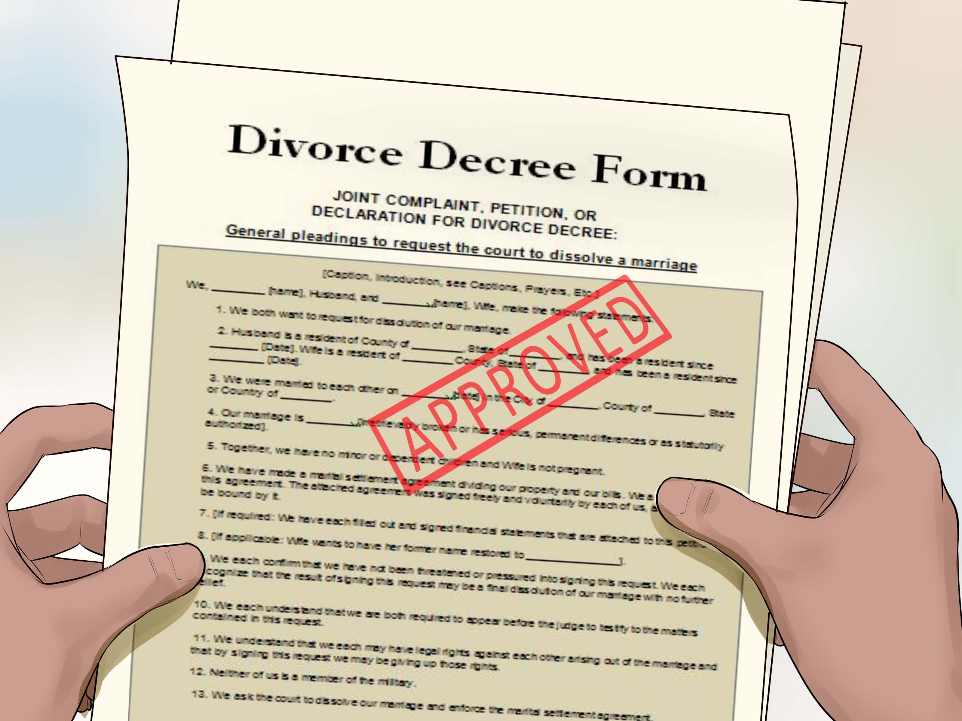 Virginia Divorce Forms Prince William County