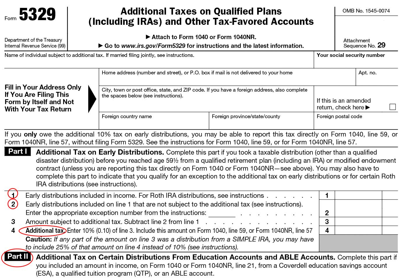 Where To Mail Fed Income Tax Forms