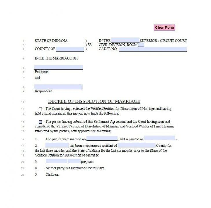 Wood County Ohio Dissolution Forms