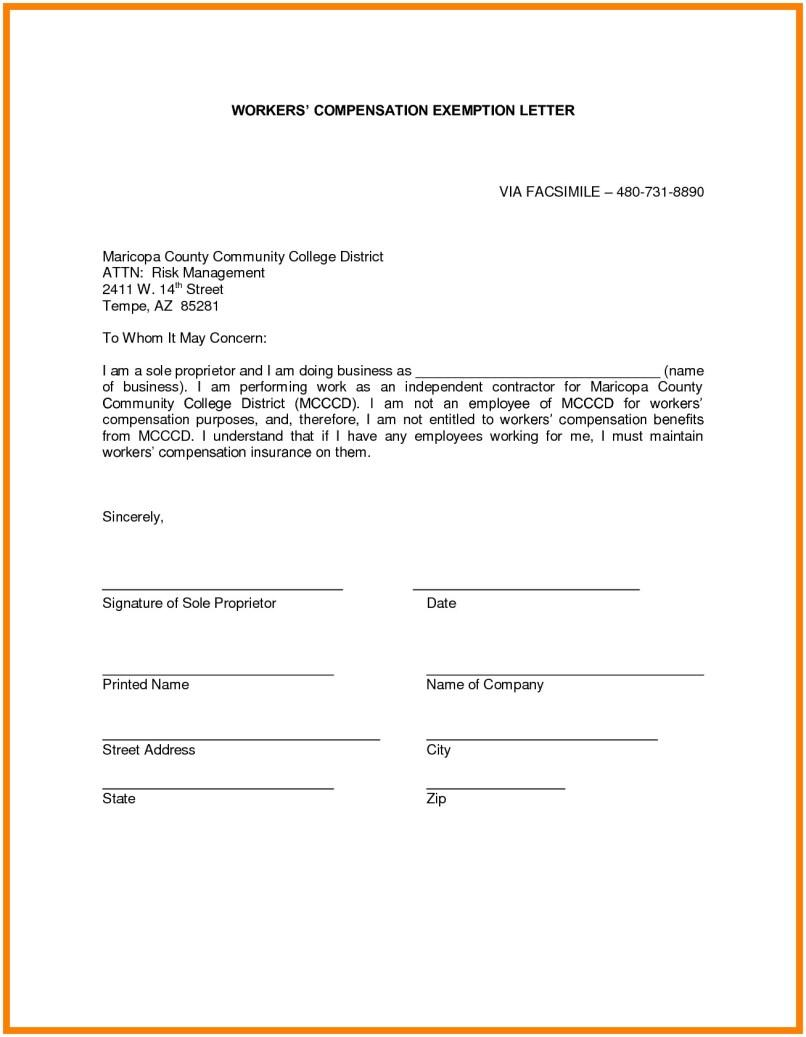 Workers Compensation Waiver Form Maryland