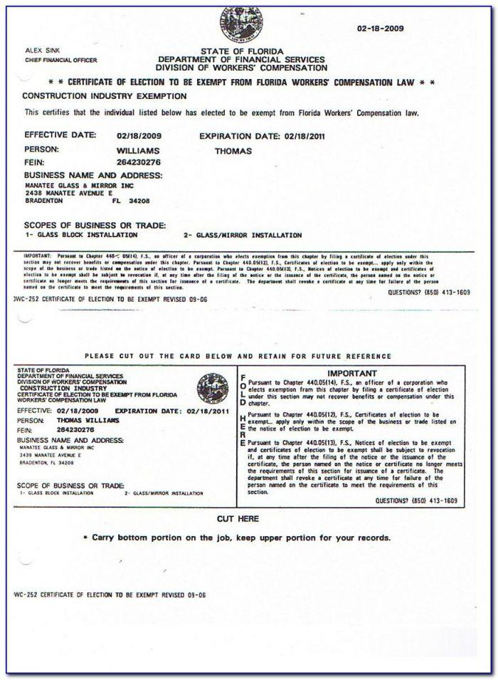Workers Compensation Waiver Form Mn