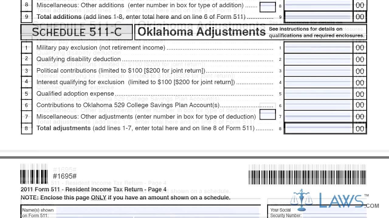 1040ez Oklahoma State Tax Form