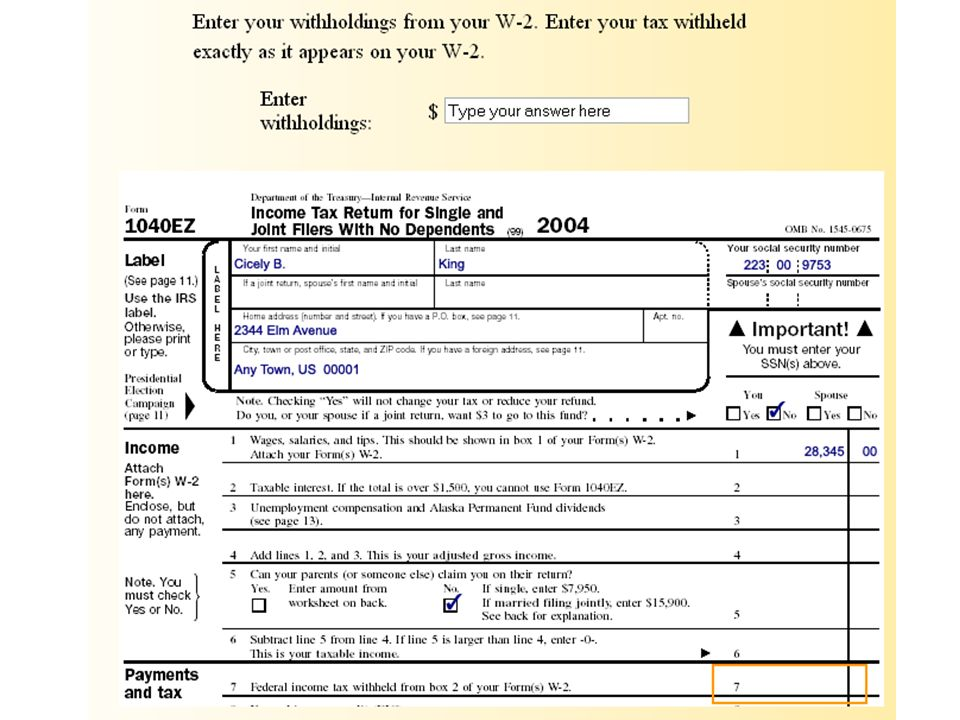 1040ez Utah State Tax Form
