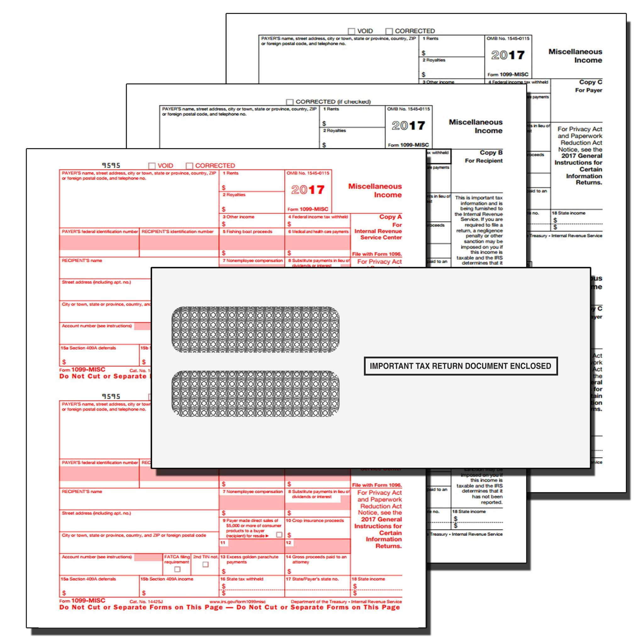 1096 Tax Forms 2017