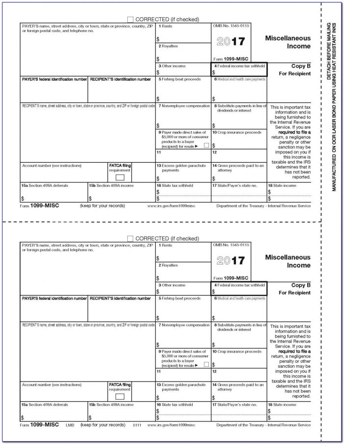 1099 Employer Form Download