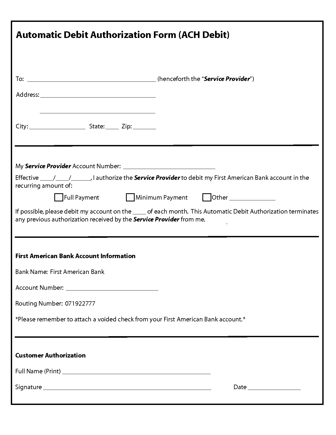 Credit Card Authorization Form Template Word Best Residential Rental Application Free Authorization Forms Formats