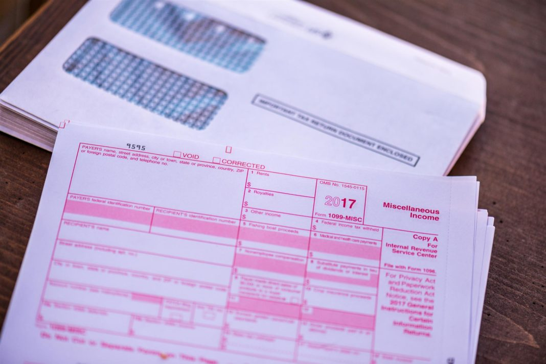 1099 Form For Contractors 2017