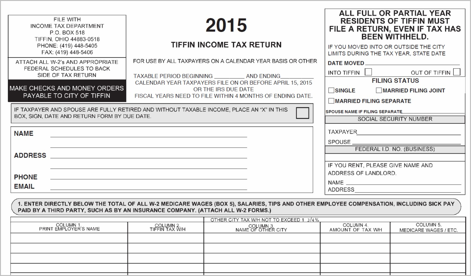 Form Irs Instructions