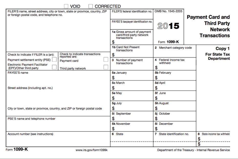 1099 Form Vs Tax Return