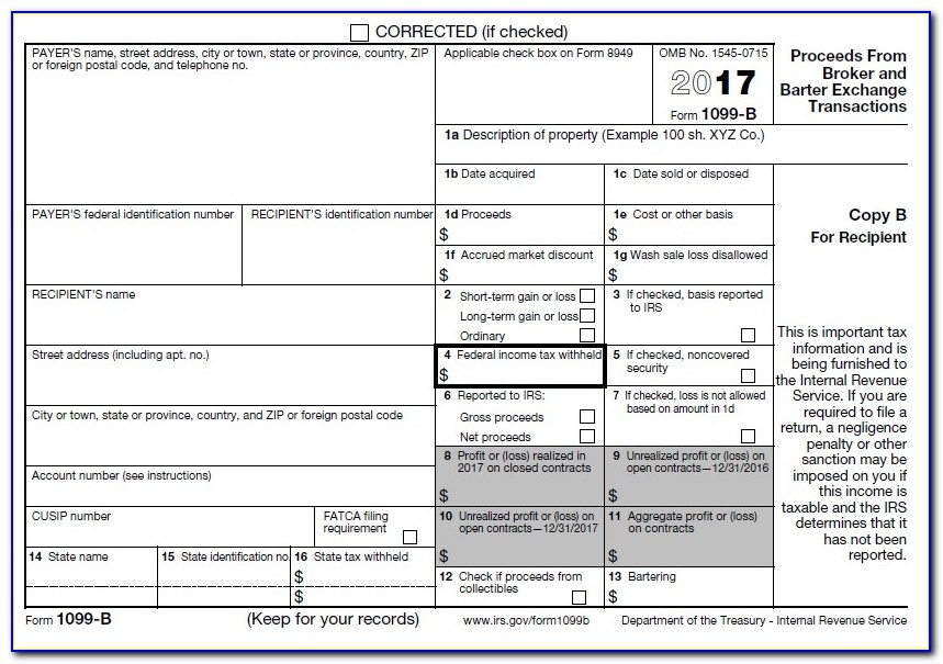 1099 Misc 2016 Fillable Form Free