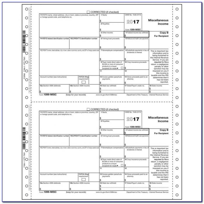 1099 Misc Form Employer