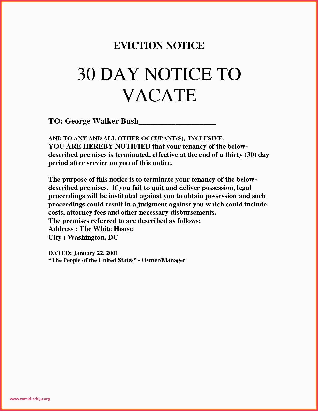 California 3 Day Notice To Pay Or Quit Form Eviction Notice Letter Beautiful Unique Will Template California
