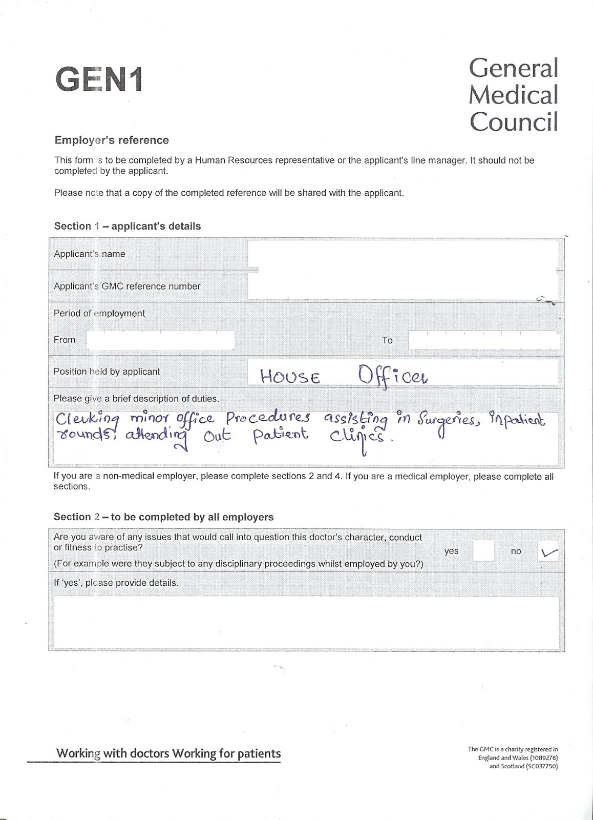360 Degree Feedback Form Gmc