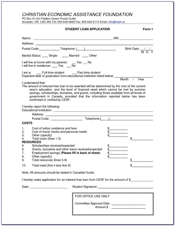 401k Loan Application Form