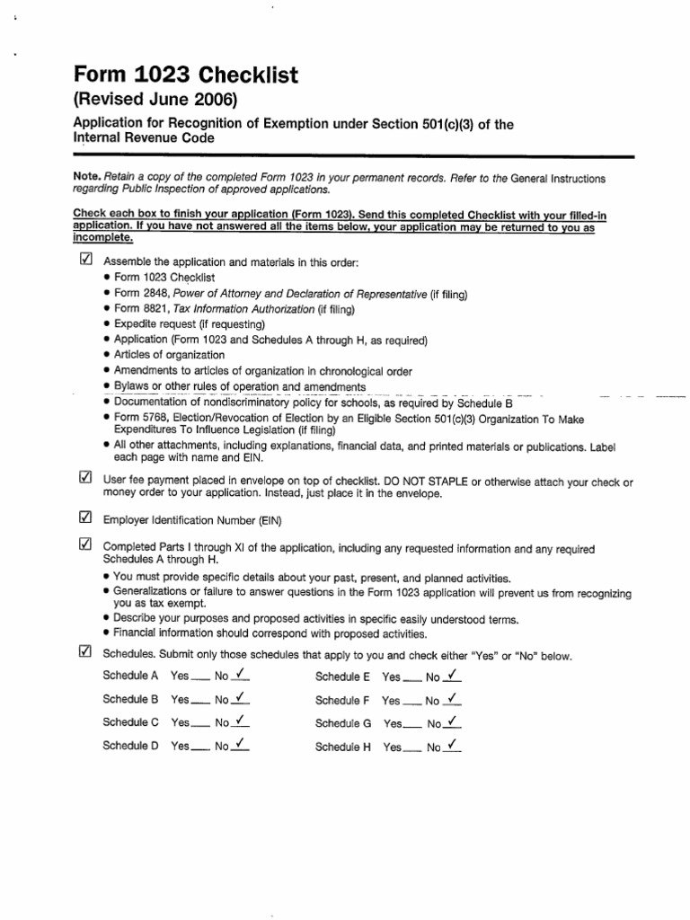 501c3 Ez Application Form