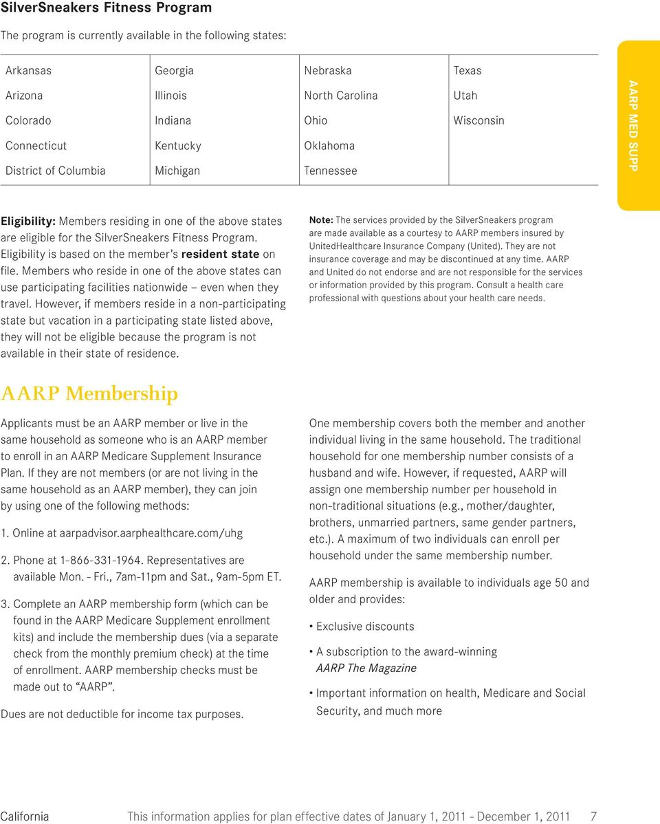 Aarp Medicare Application Form