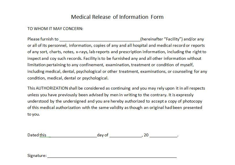 Ace Fitness Waiver And Release Form