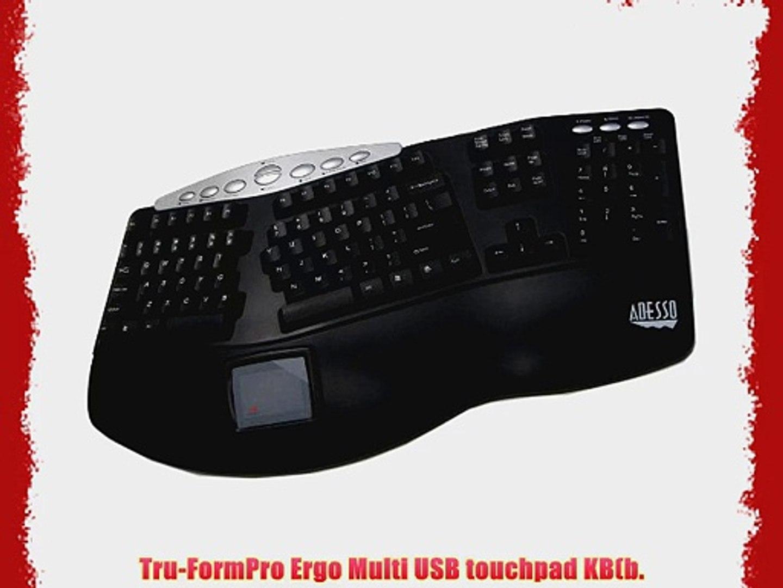 Adesso Tru Form Pro Usb Keyboard (pck 308ub)