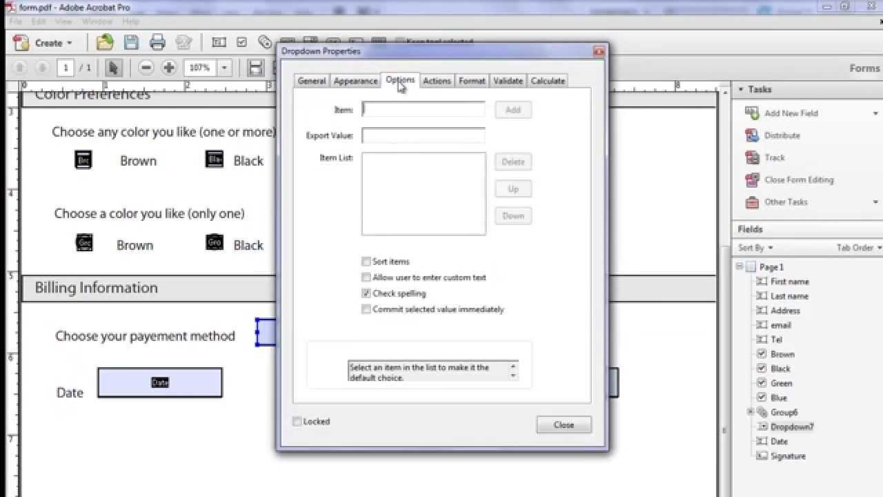 Adobe Form Filling Software