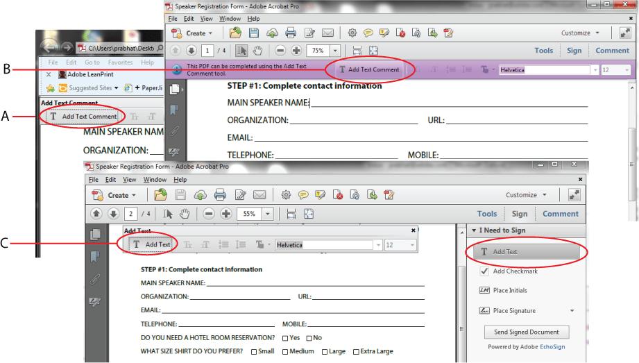 Adobe Pdf Writable Forms