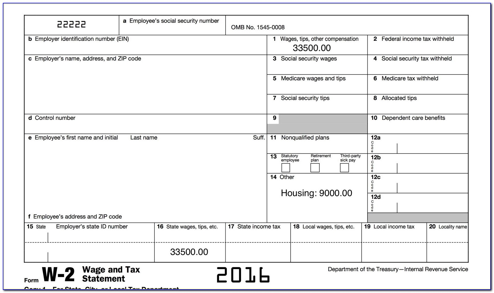 Adp W2 Employee Form