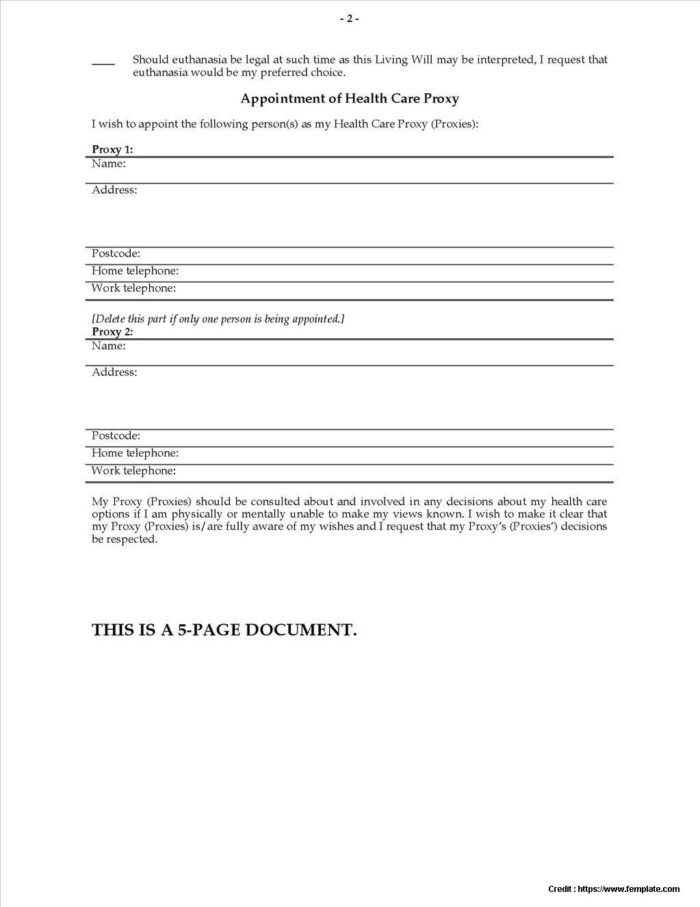 Advance Health Directive Forms Queensland