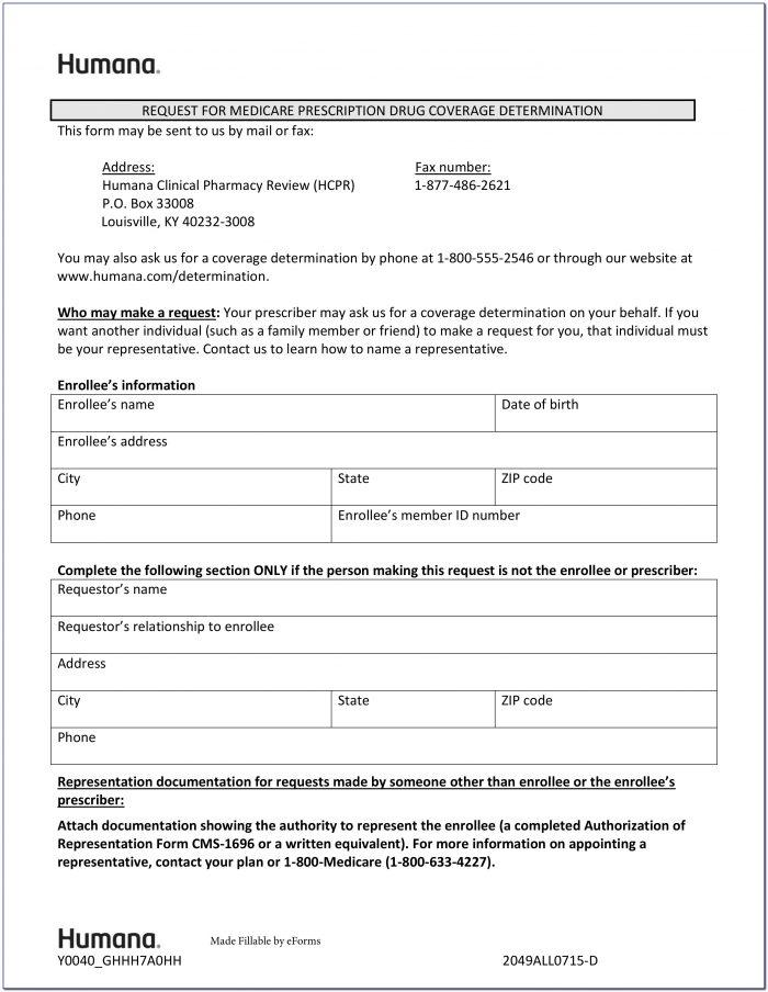 Aetna Prior Authorization Form For Xarelto