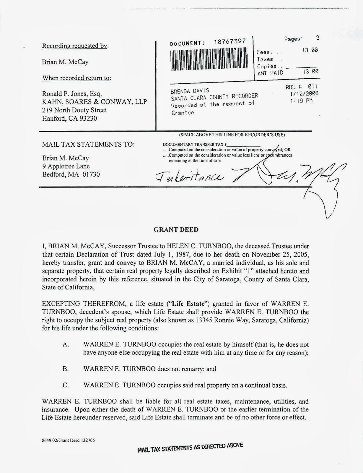 Affidavit Death Of Trustee Form Nevada