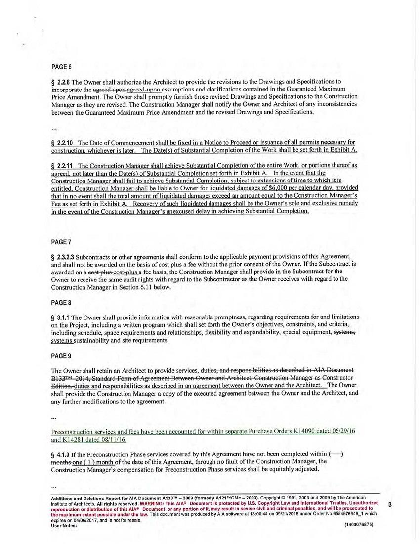 Aia Contract Amendment Form